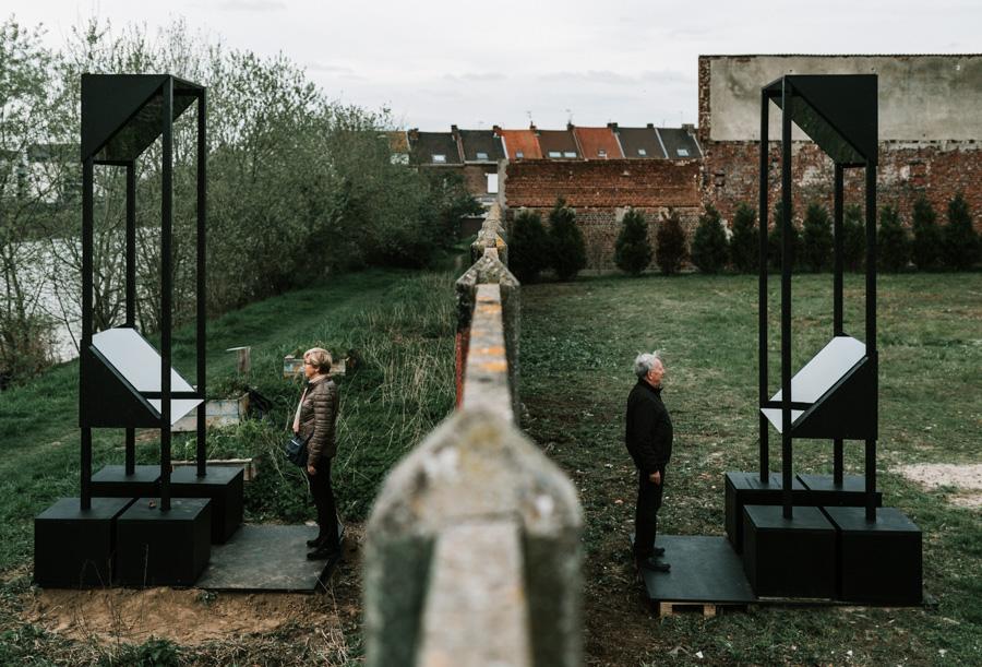 """FACAD'ART - Exposition dans le cadre de Lille3000""""Les fenêtres qui parlent"""" à La Madeleine"""