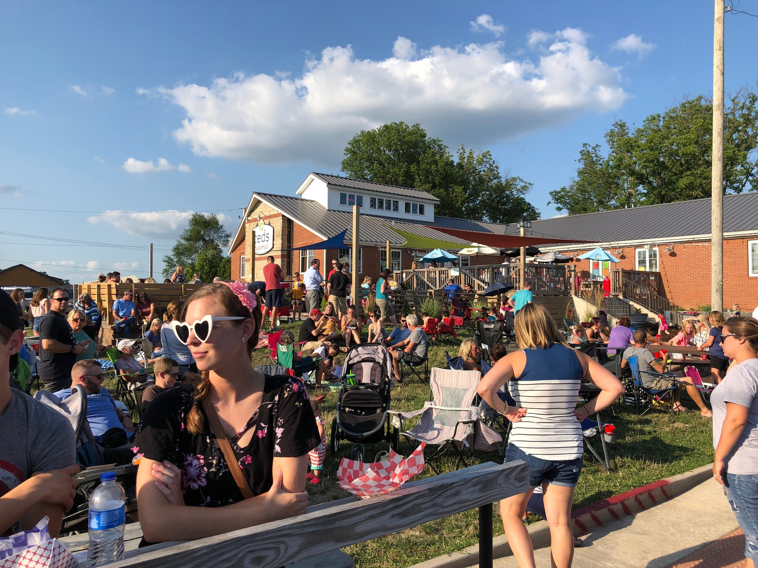 All summer long - We feature Food Truck Thursdays from the first Thursday in May to the last Thursday in September, featuring some of the best in Indiana mobile cuisine, and live acoustic music.