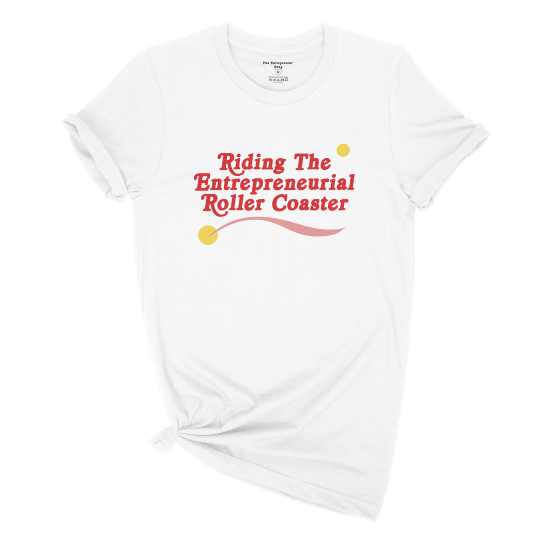 Entrepreneurial Rollercoaster Graphic Tee.jpg