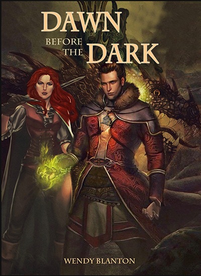 BOOKS - Dawn Before the Dark is the first of 3 fantasy novels by Wendy Blanton.