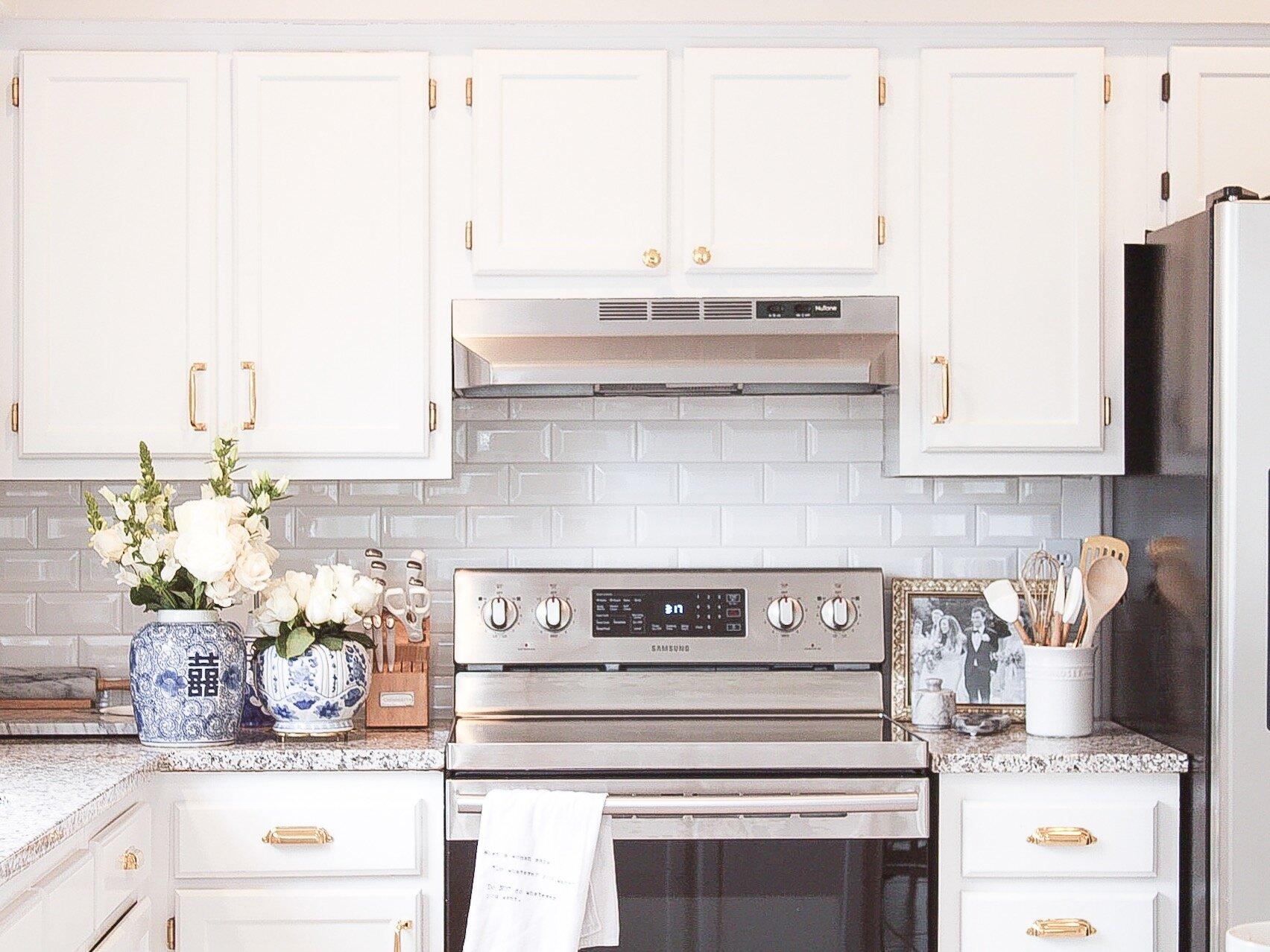 Unlacquered Brass Kitchen Hardware Maria Conti Design Beauty Lifestyle Blog