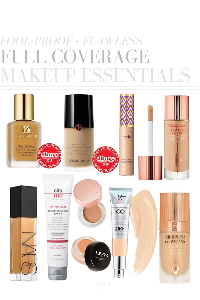 The Best Full Coverage Makeup 2020