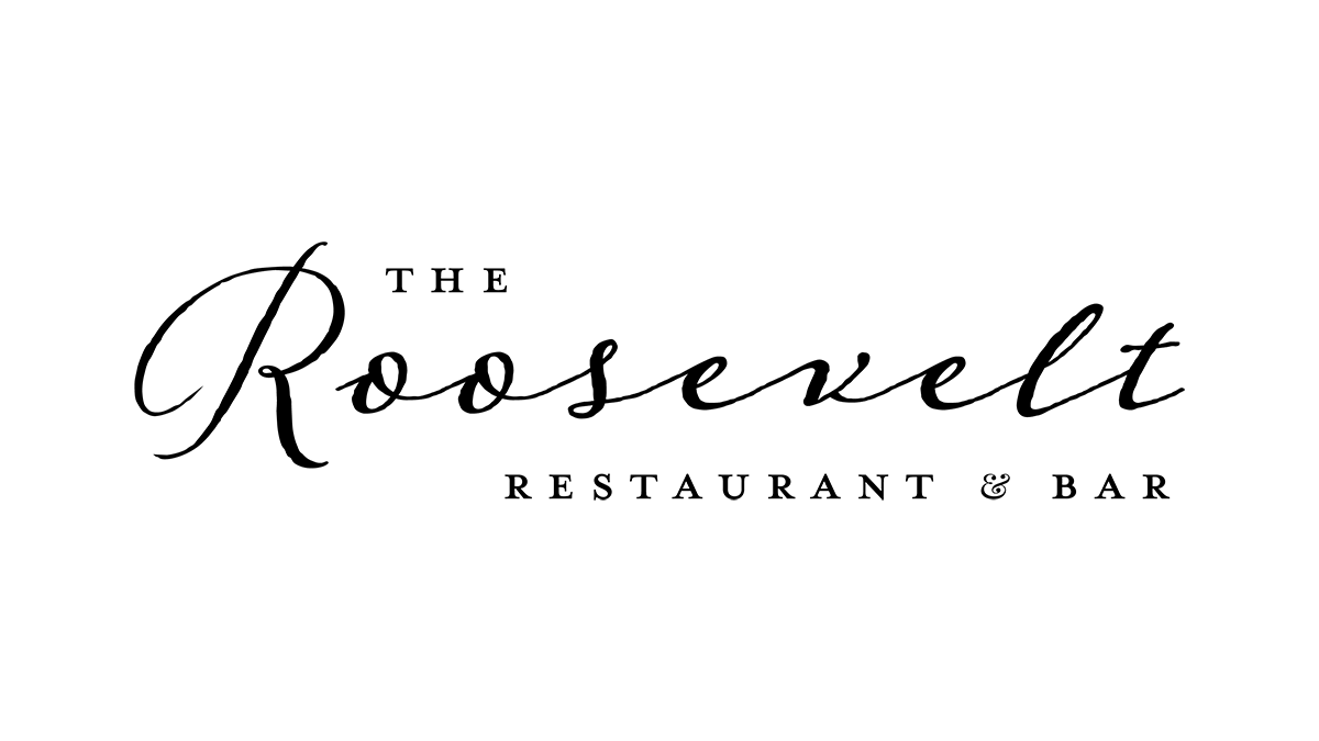 The final Roosevelt's Logo after branching out into a full restaurant and bar