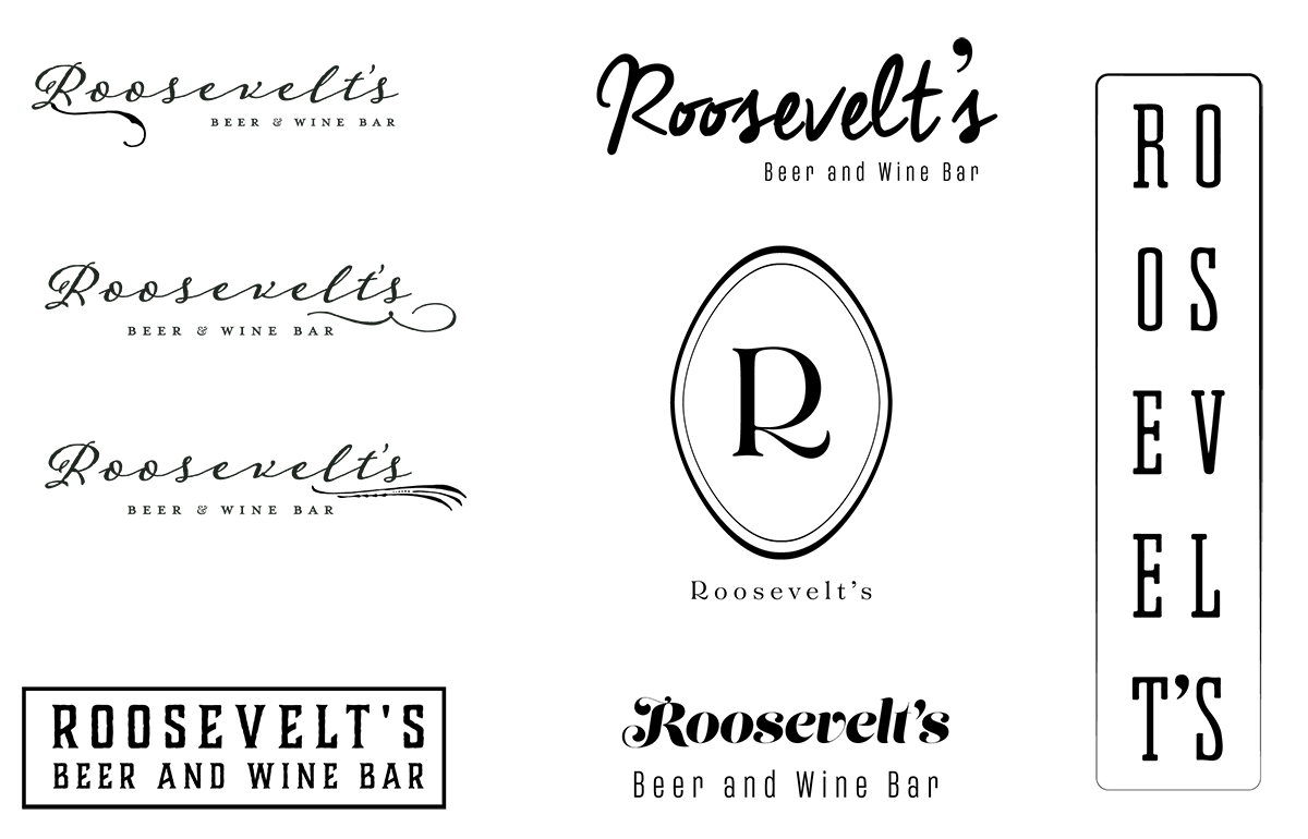 Some of the initial logo designs