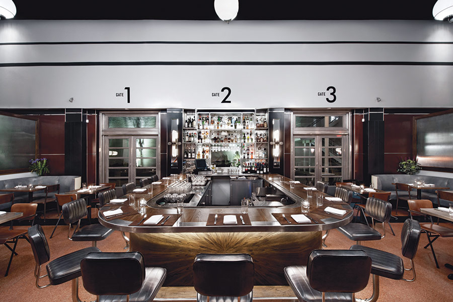 Restaurant Opening - The Grey in Savannah designed by Parts and Labor Design and Felder & Associates