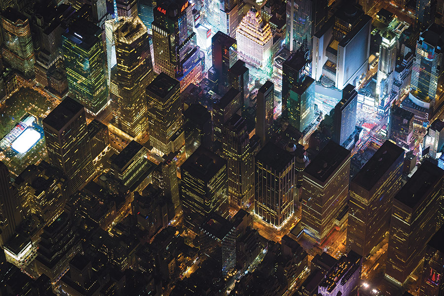 As the Camera Flies - Pulitzer Prize–winning photographer Vincent Laforet's aerial series, Night Over New York