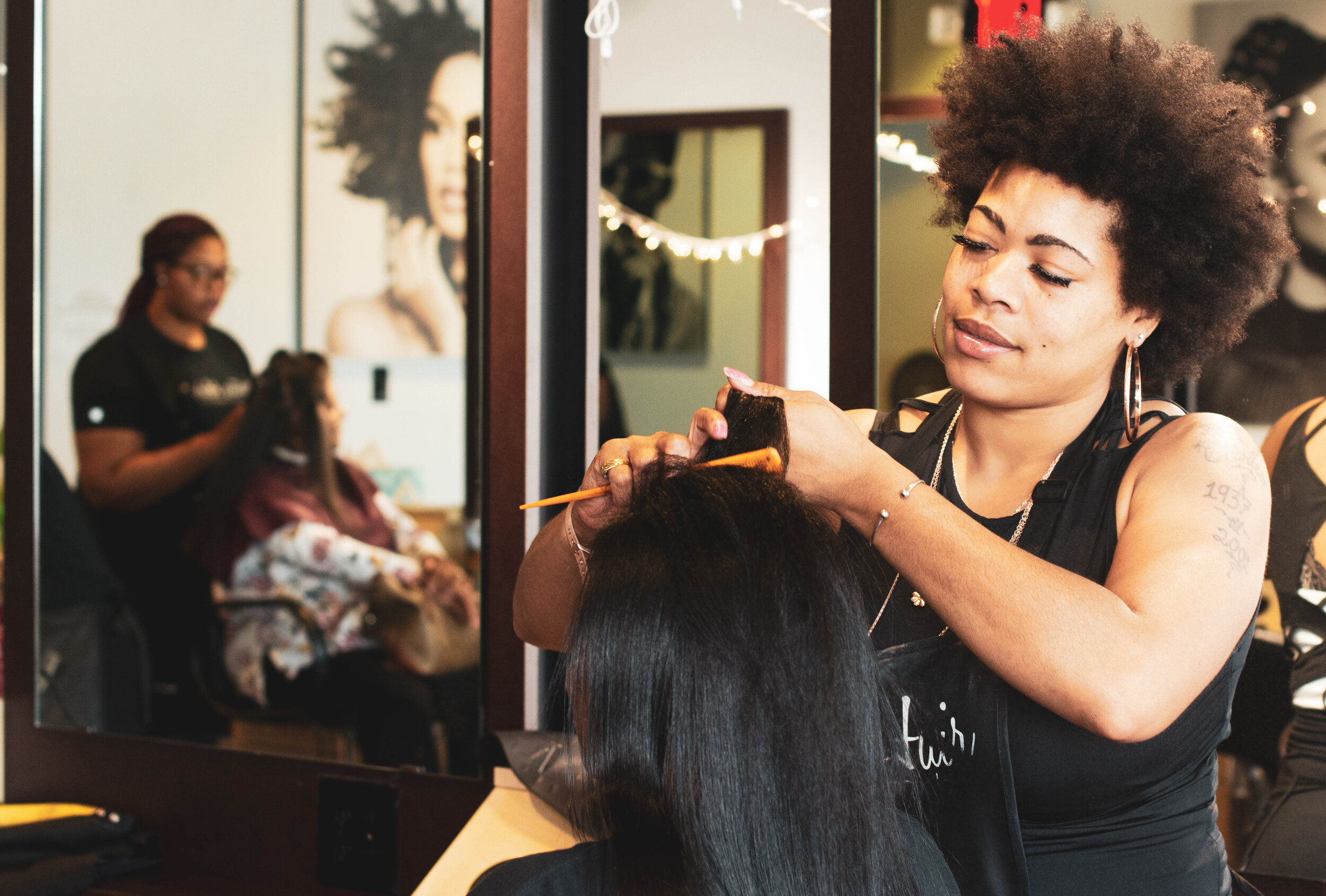 Cosmetology   Prepares students training in styling, cutting, coloring, natural, and braiding hair, manicuring, and makeup.   Learn More  →