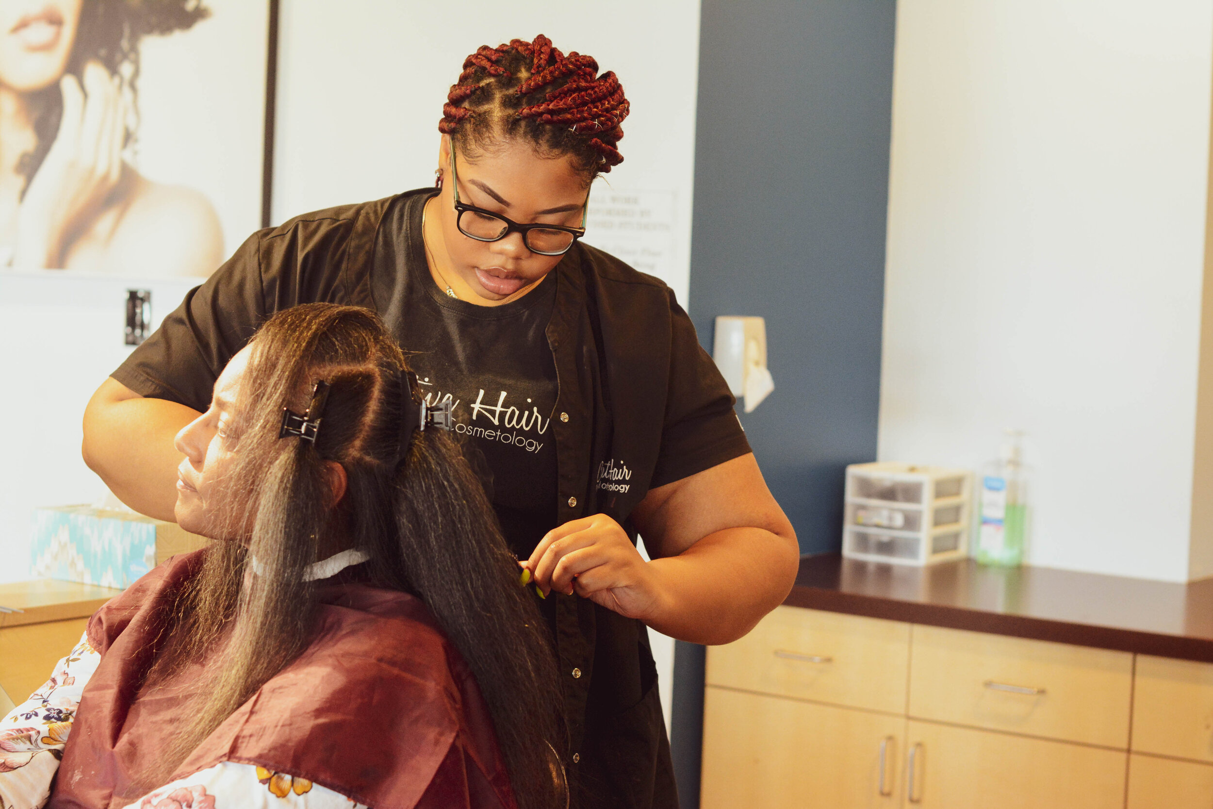CLIENT SERVICES - New student salon hours for October!We value our clients & take pride in offering quality services at an affordable price. see our list of services, prices & products for all your hair care needs.