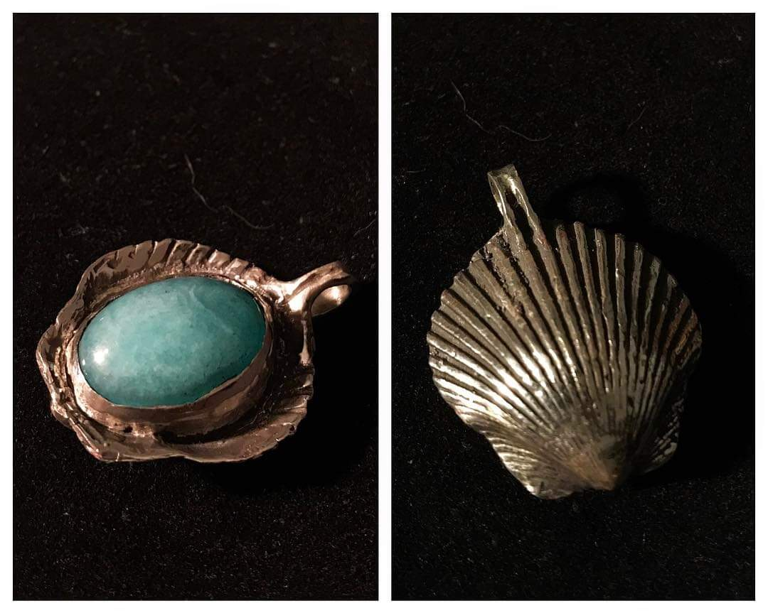Sterling Silver - Amazonite