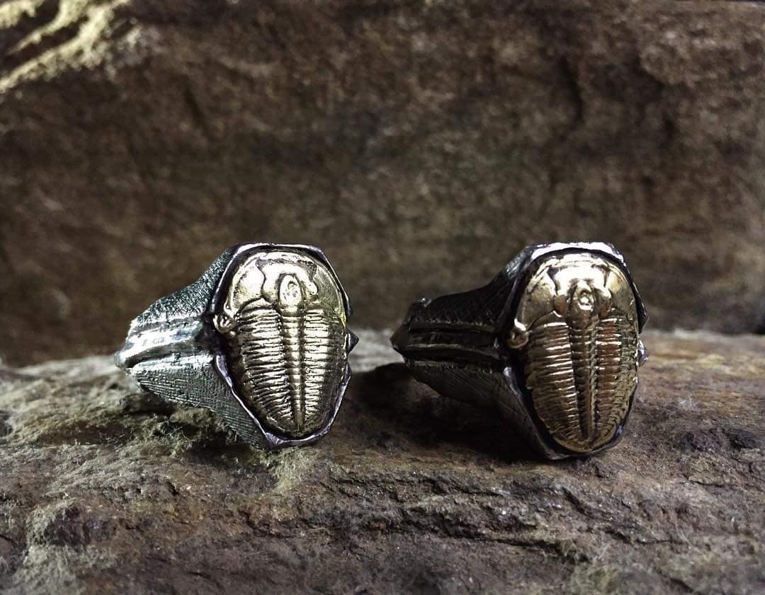 Silver x Polished Brass