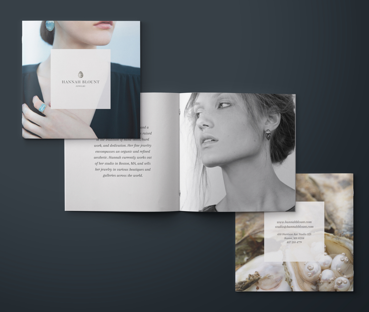 Hannah Blount Jewelry, Marketing Collateral