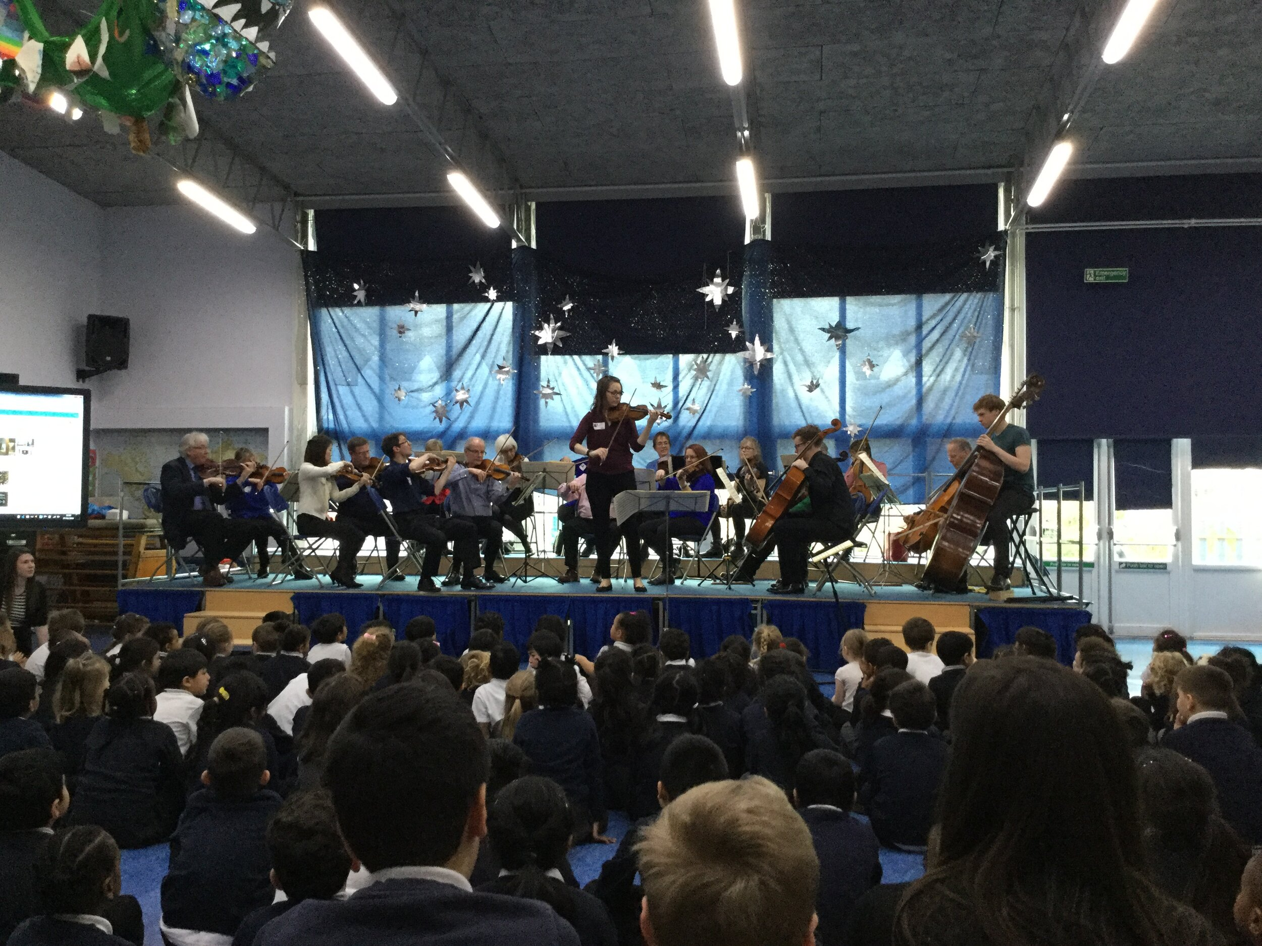 School concert at Southmead Primary School