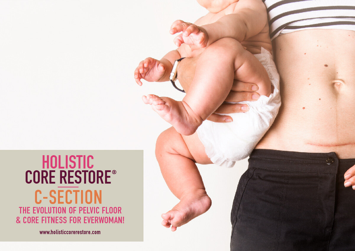 C-SECTION - For women who've had a c-section and need to reconnect to their core and understand their scar.