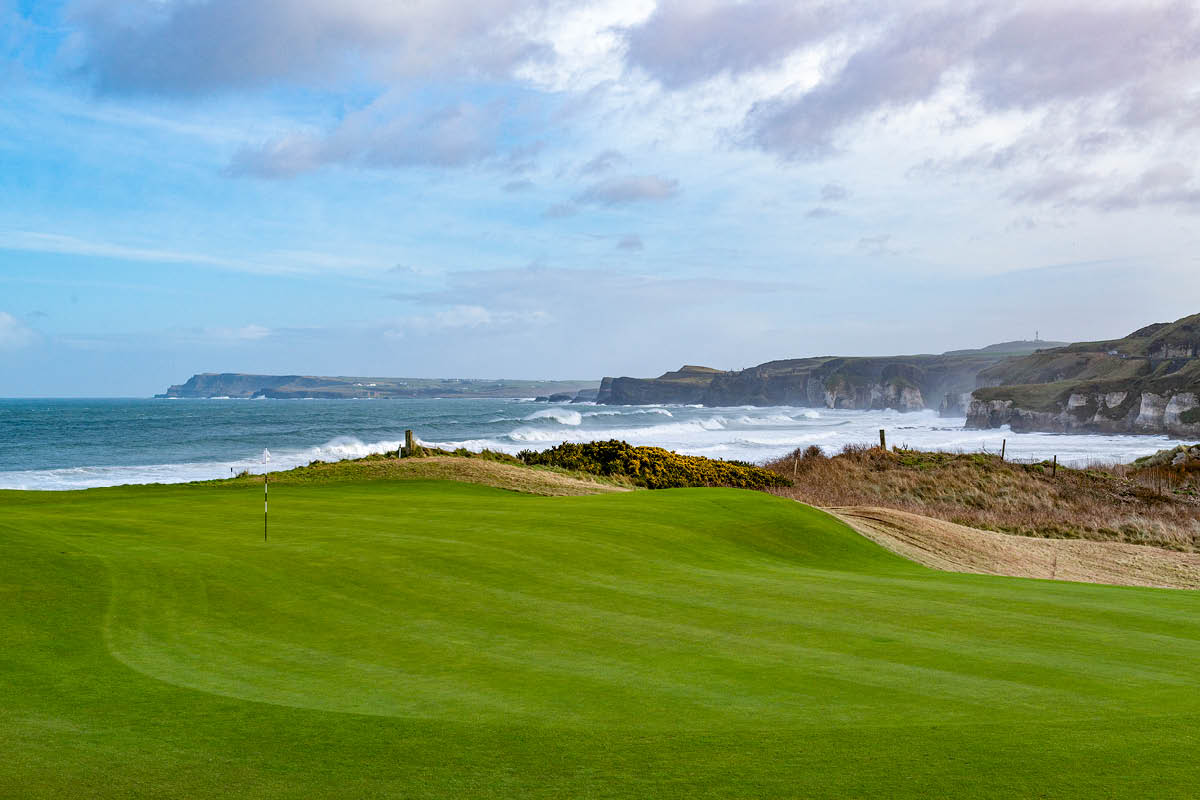 """""""This is among my favourite places to play in Northern Ireland, one of the truly great links courses. The more you play it, the more you recognise it for the class place it is."""" - Rory McIlroy on Royal Portrush"""
