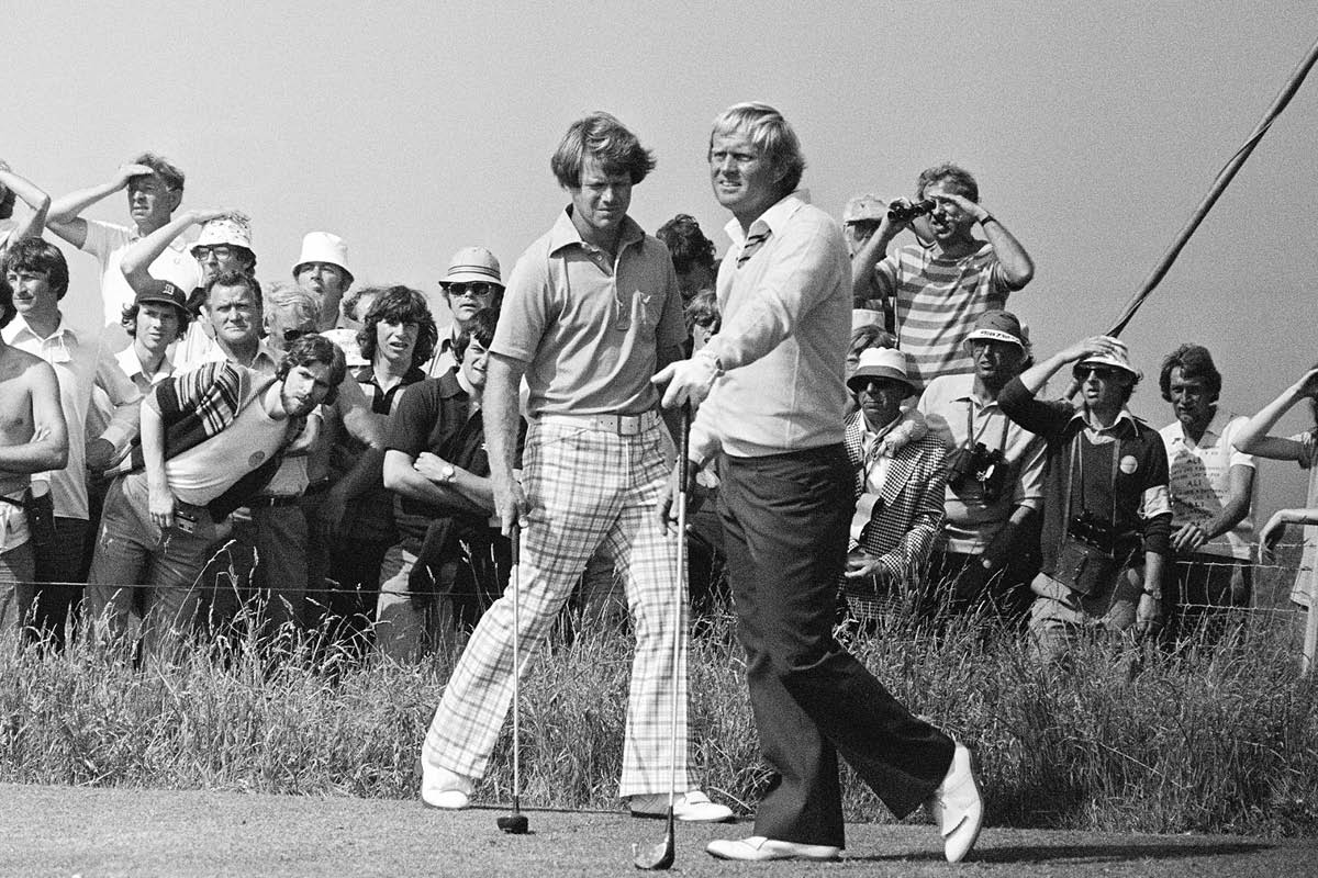 """This is what it's all about, isn't it?"" - Tom Watson to Jack Nicklaus, 1977, The Open, Turnberry"