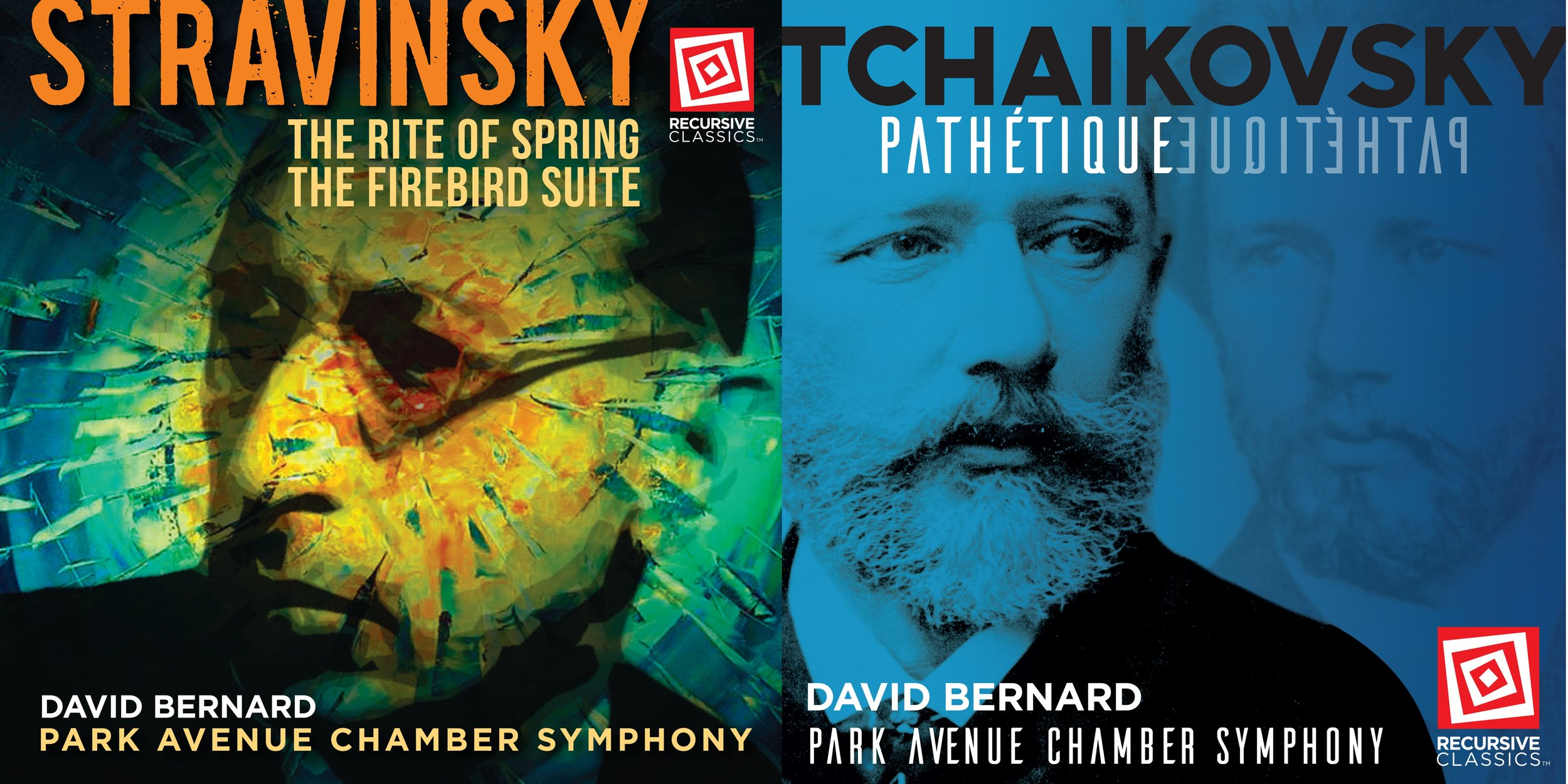 "Recordings & Scholarship - David Bernard's recordings have received enthusiastic critical praise. His release of Tchaikovsky's Pathétique was lauded by Gramophone Magazine as ""…an impressively elegant, thoughtful, well‑balanced and sophisticated Tchaikovsky Pathétique."" Of his Beethoven Symphony No. 9 release, The Arts Desk proclaimed ""Scintillating Beethoven…Edge-of-the-seat playing…it's a winner: dramatic, witty, eloquent and boasting some startling choral work in the last movement."" His complete recorded Beethoven symphony cycle was praised by Fanfare magazine for its ""intensity, spontaneity, propulsive rhythm, textural clarity, dynamic control, and well-judged phrasing"". Of his recent premiere recording of new editions of Stravinsky's The Rite of Spring and The Firebird, The Art Music Lounge proclaimed ""this is THE preferred recording of The Rite because of its authenticity as well as the almost startling boldness of approach.""David Bernard has worked with the Edwin F. Kalmus editorial team, led by Clinton F. Nieweg, retired librarian of the Philadelphia Orchestra, developing new editions of Stravinsky's ""The Rite of Spring"" and ""The Firebird Suite—1919 Version,"" which has been published in 2016. In addition, he has published his own editions of Mozart's Clarinet Concerto, K. 622, and Schumann's Symphony No. 2, Op. 61."
