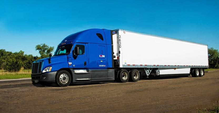 Temperature Controlled - Max freight weight is 42,000 - 45,000 lbs.Maximum freight dimensions:Length: 48' – 53'Width: 8.2'Height: 8'