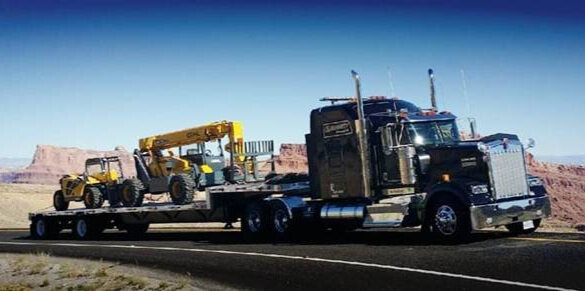Step Deck - Maximum freight weight is 48,000 lbs.Maximum freight dimensions:Trailer Length: 48' – 53'Trailer Width: 8.5'Freight Height: 10'