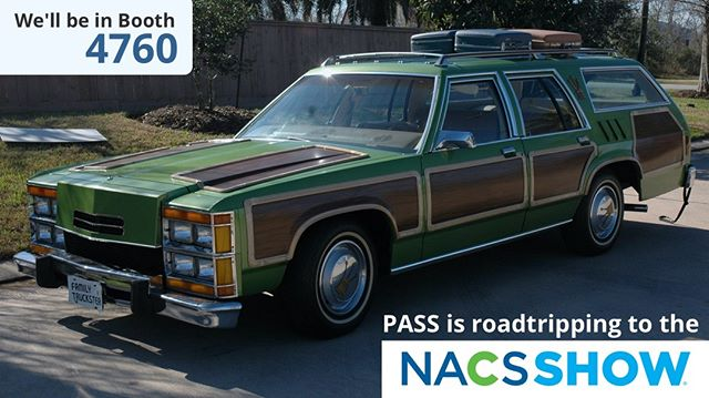 The #NACSShow is this week, and we're currently road-tripping down to ATL from Indiana.  If you're attending please stop by booth 4760 and say hello, we'd love to see you and tell you about some very exciting new features we've got in store for PASS Tools