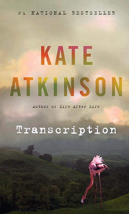 Book Cover for Kate Atkinson, Transcription, USA, Canada 2018