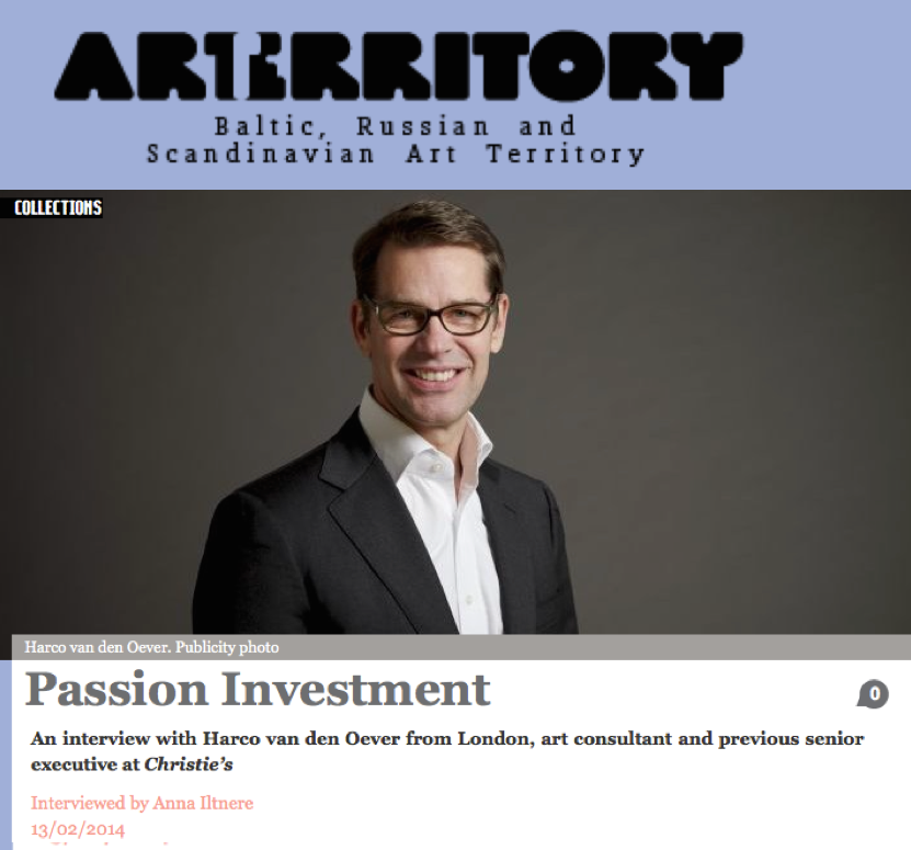 ArtTerritory: Passion Investment
