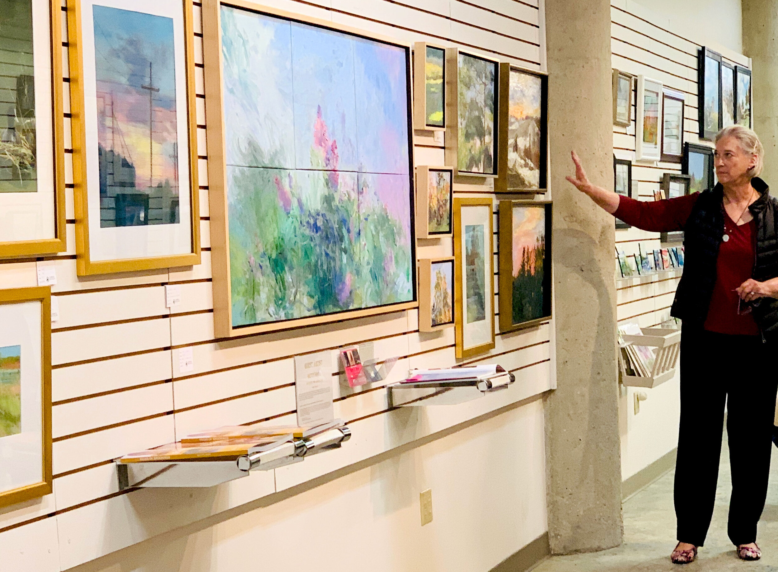 Savoring the Landscape - OCTOBER 1-27, 2019 • EastBank Art Gallery, Downtown Sioux Falls, SDEastBank Art Gallery, Suite 116, 8th & Railroad Center, 401 East 8th StreetView Betty's Artist Talk Now >