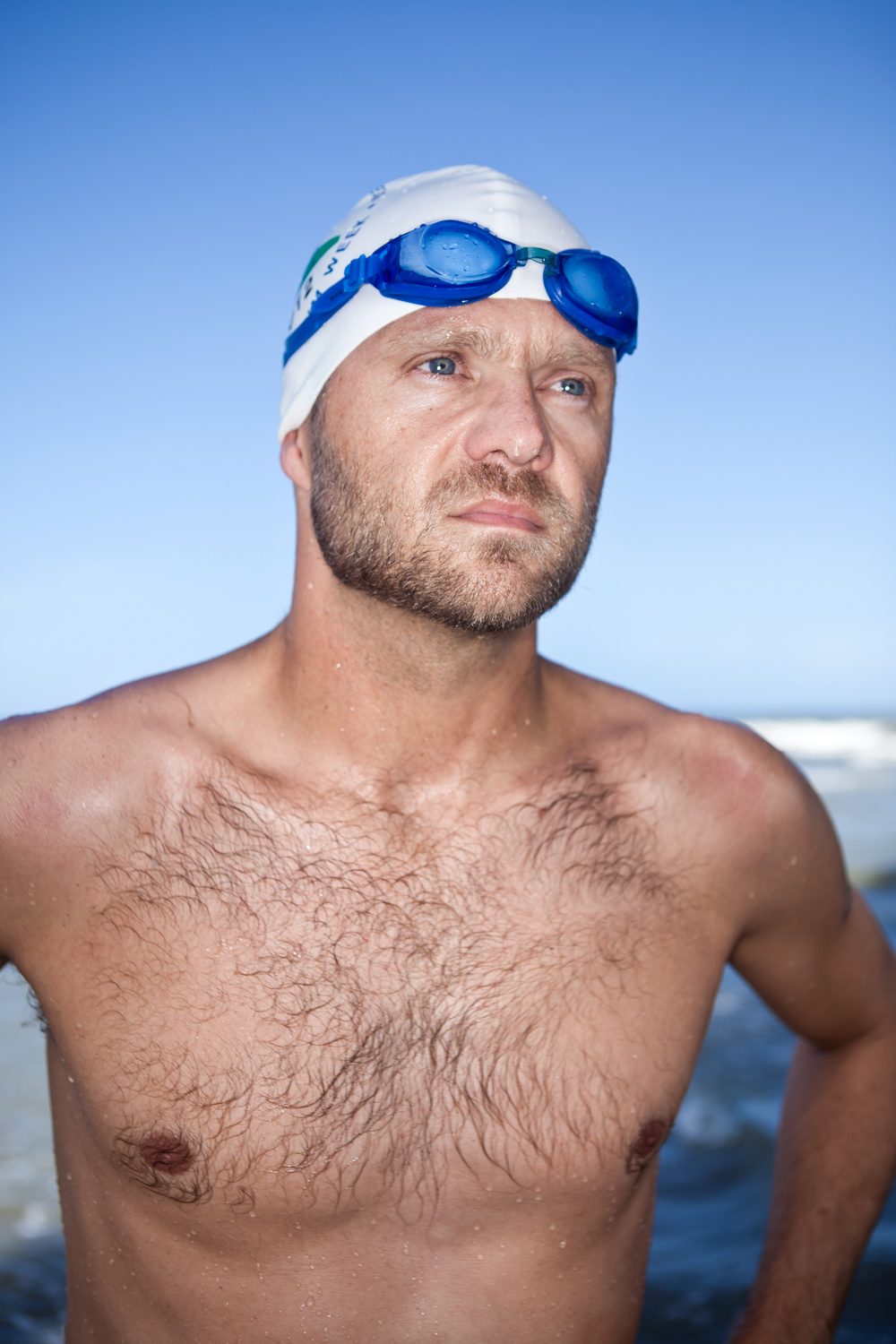 Brian Lanahan, college professor and swimmer