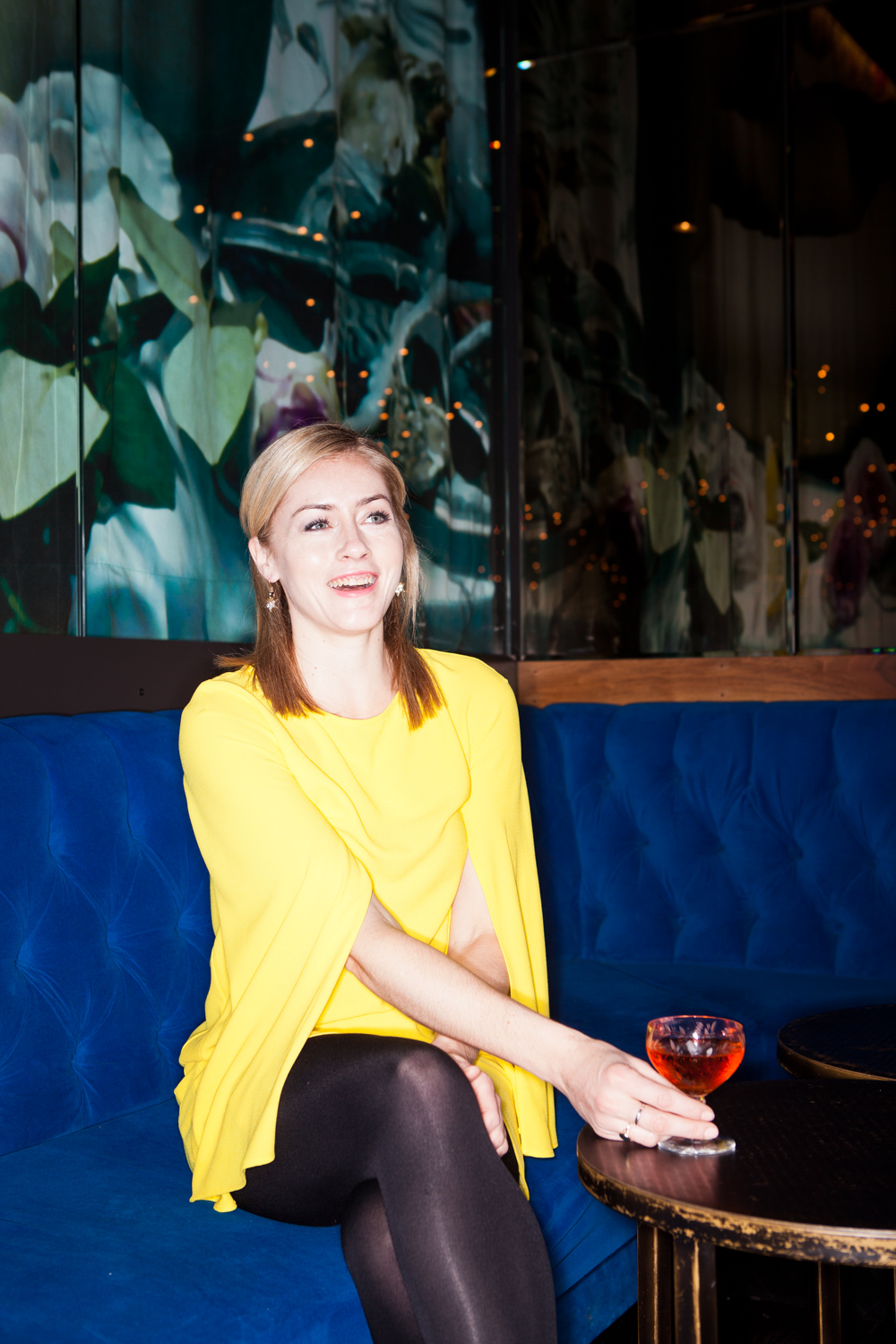 Charlotte Voisey, host of The Proper Pour with Charlotte Voisey