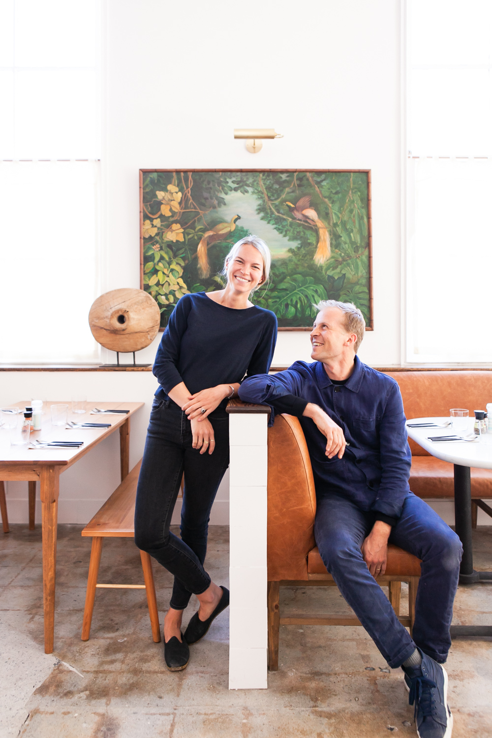 Ben and Kate Towill of Basic Kitchen and Basic Projects