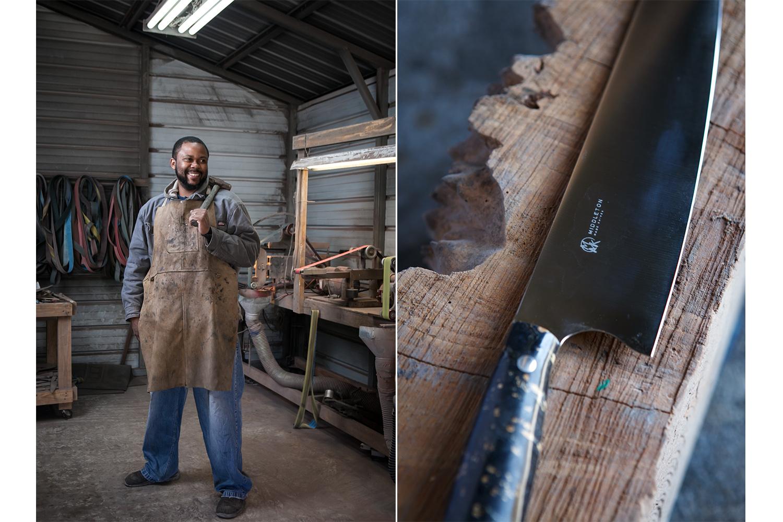 Quintin Middleton, owner, Middleton Made Knives
