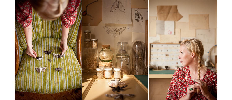 Artist and designer Adrienne Antonson