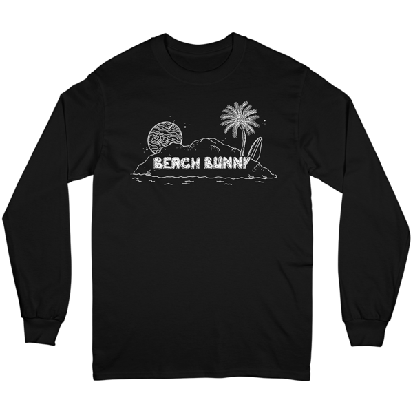 ISLAND LONG SLEEVE (BLACK)