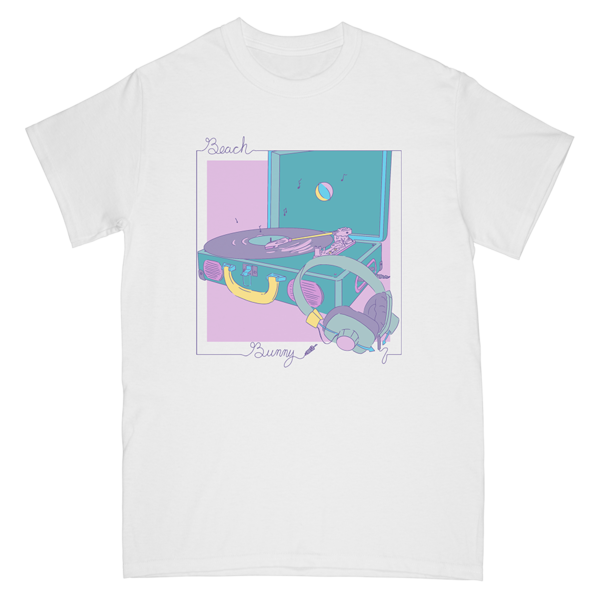 RECORD PLAYER TEE