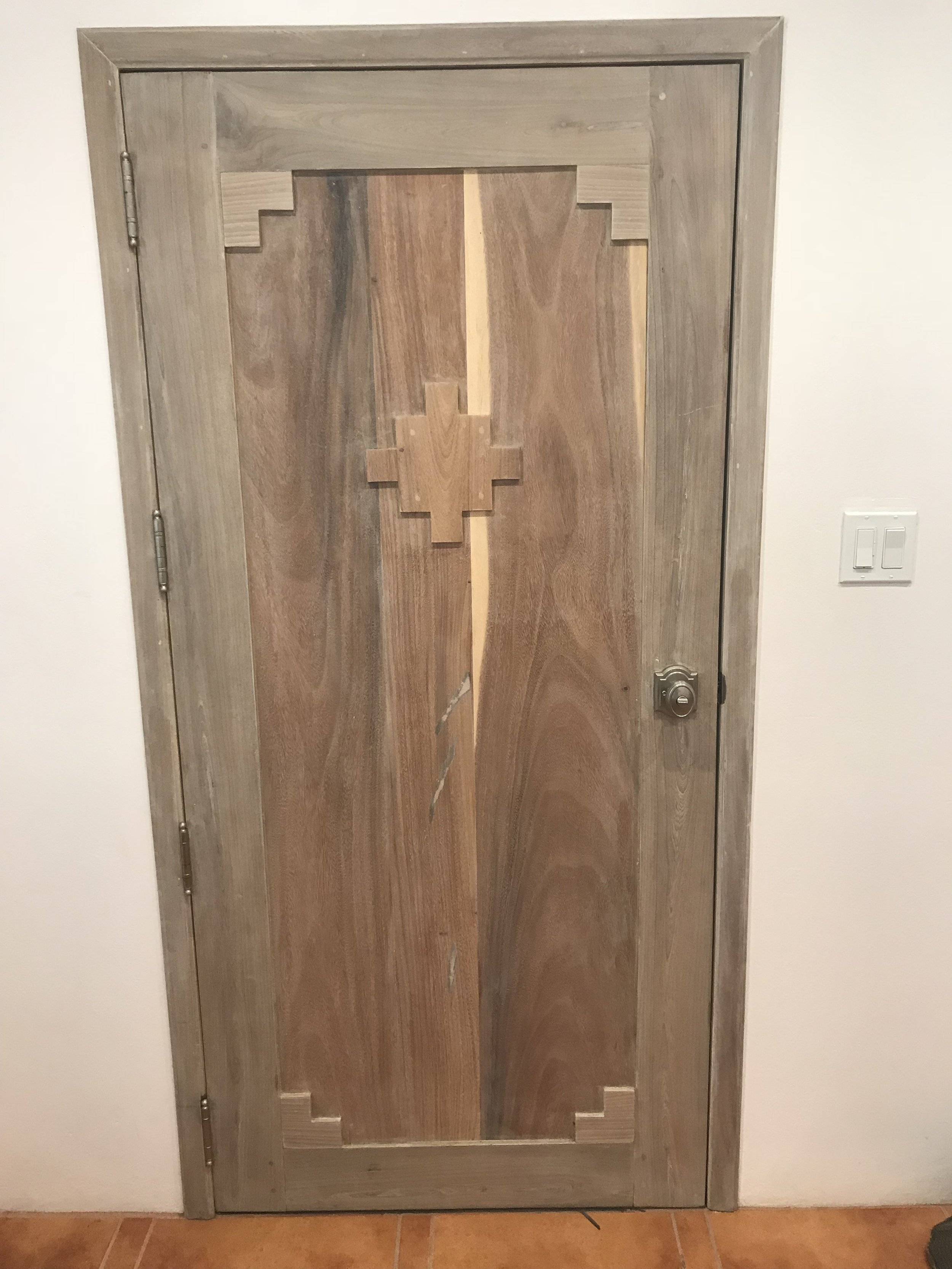 Guest room doors (interior)
