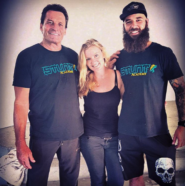 With Australian Stunt Academy's Colin Handley & Timmy Frost