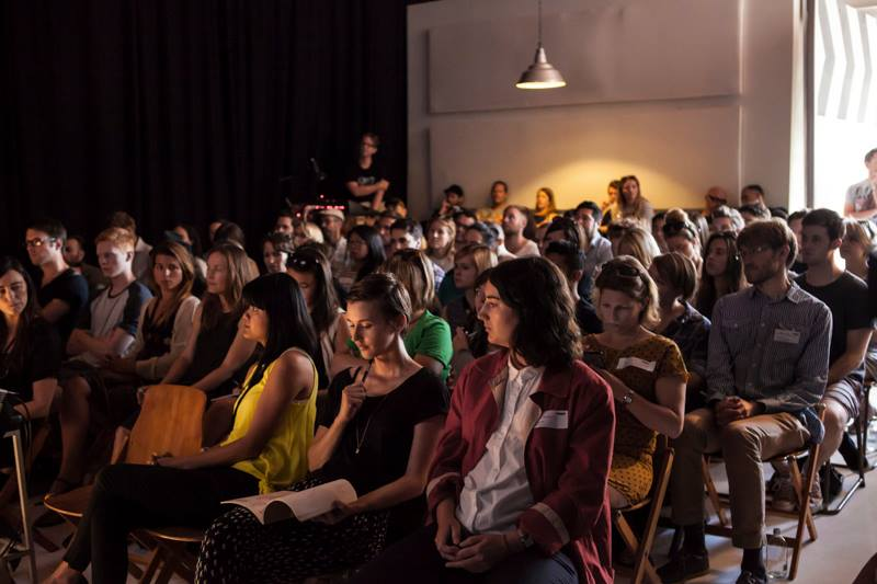 CREATIVE MORNINGS \\ 100 SEATED