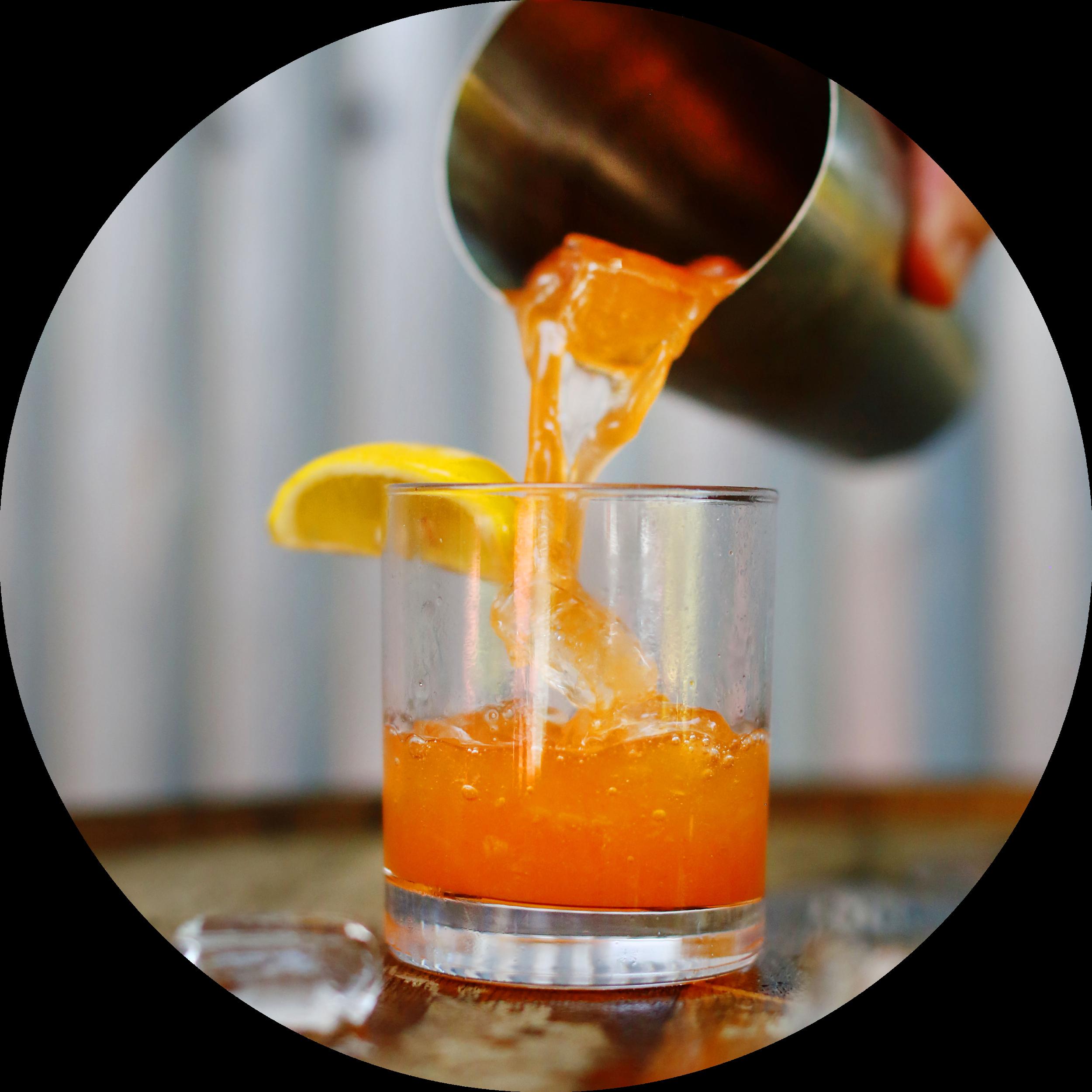 HEMINGWAY DAIQUIRI   2oz Crystal Rum  3/4oz Fresh lime Juice  1/2oz Fresh Grapefruit Juice  1/2oz Maraschino Liquor    Shaken, Served Up