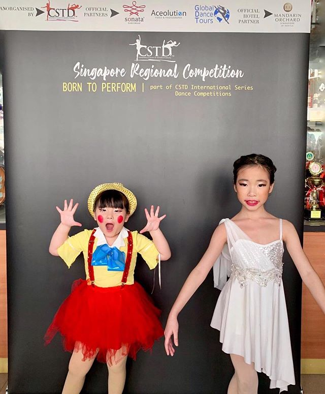 A huge congratulations to our @wingstowingsdance competitors at CSTD Born to Perform Competition. 👯‍♀️ — Kayla Heng - 3rd Place (5&U Freestyle); Shevaun Leong 11&U Lyrical 🦋👏