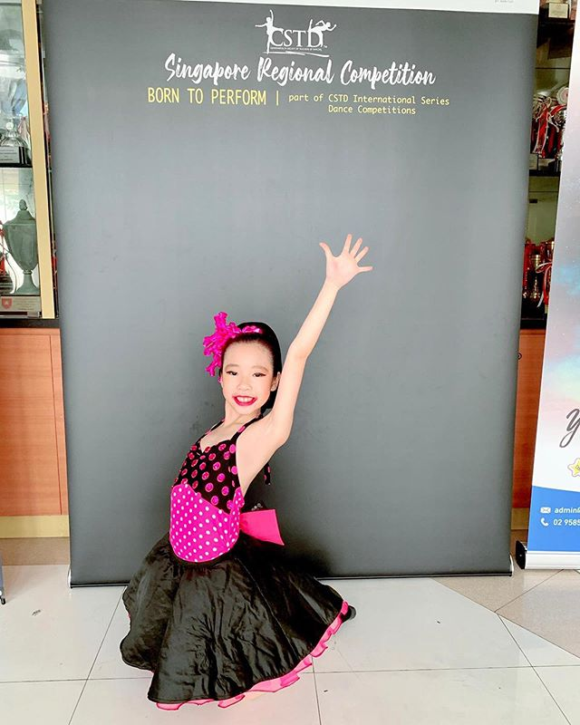 Competition week! 🦋 Another round of congratulations to yesterday's competitors at CSTD:  Jazz (7 & Under) - Naomi Liu and Ivette Kong Jazz (11 & Under) - Shevaun Leong