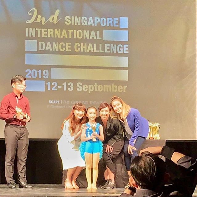 🦋 Congratulations to our @wingstowingsdance competitors on the last day of SIDC 🦋  6 & Under Song & Dance  Kayla Heng - 1st Runner Up 🏆  6 & Under Tap  Shevelle Leong - Champion 🏆