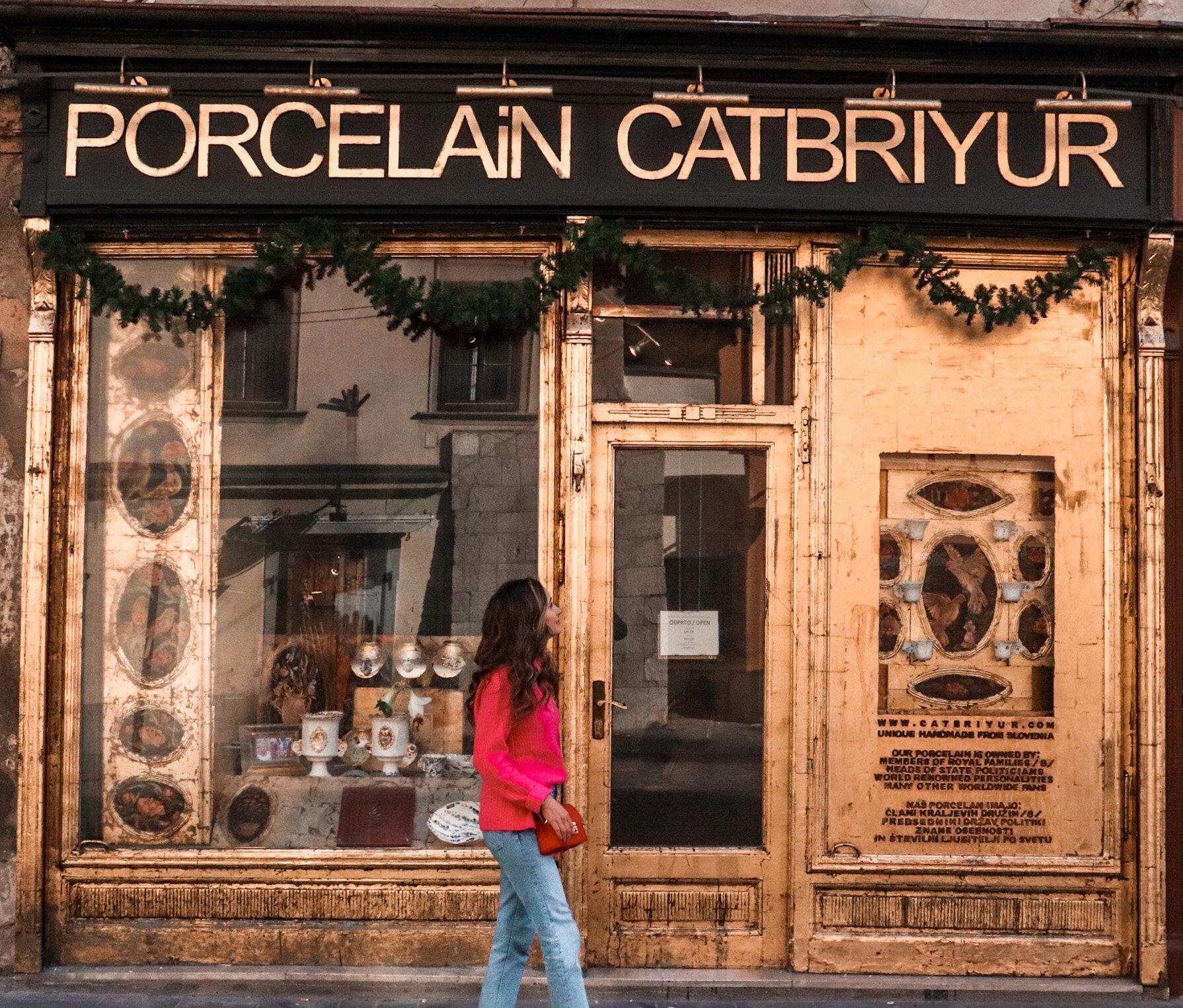 Boutique in Ljubljana, Slovenia