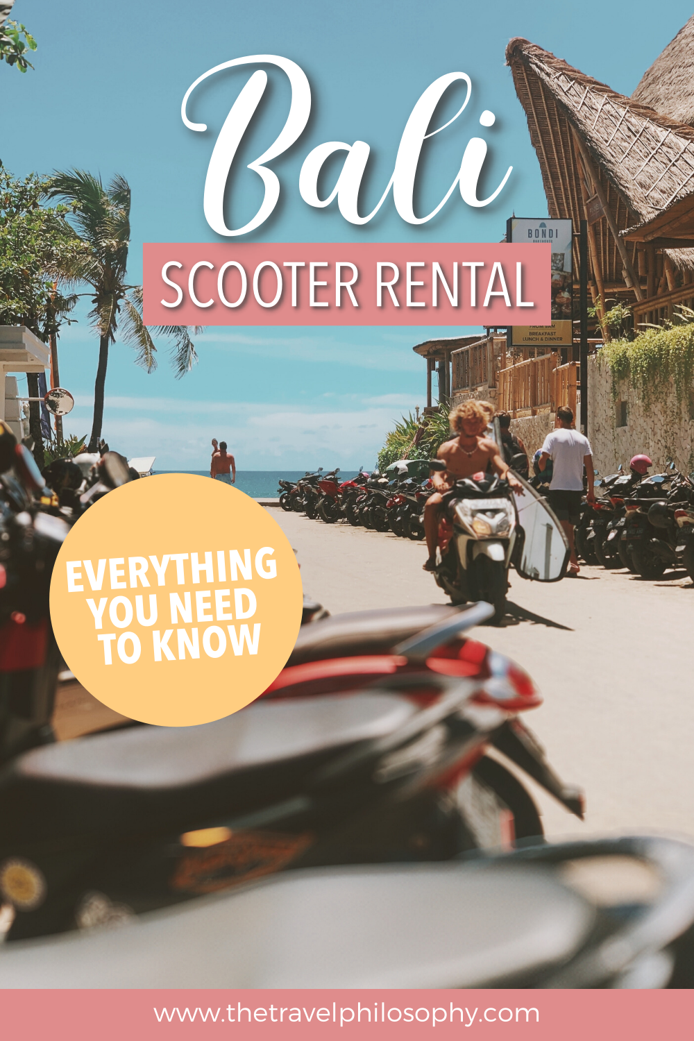 A Complete Guide to Renting a Scooter in Bali