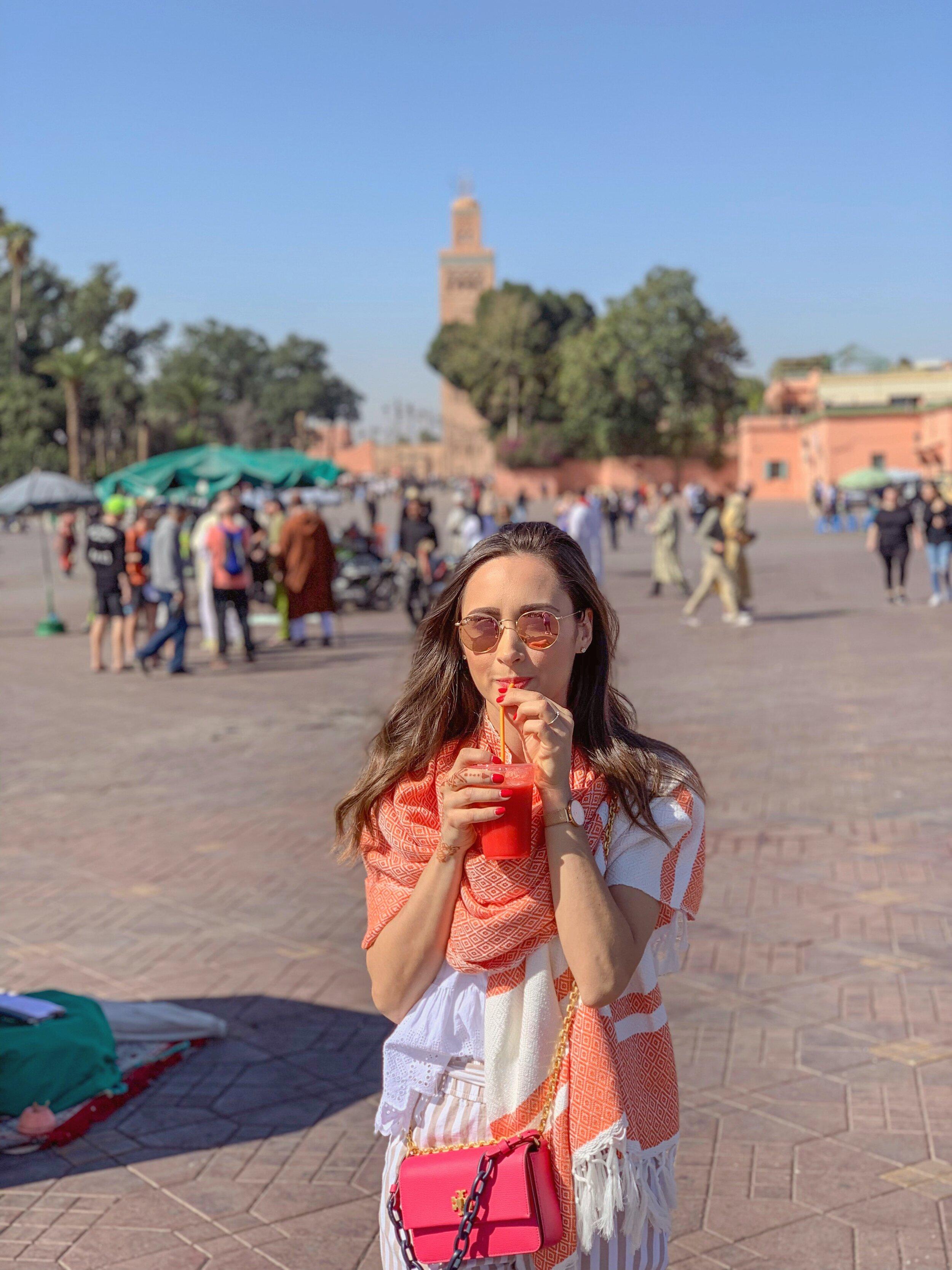 Jemma el-Fnaa in Marrakech, Morocco