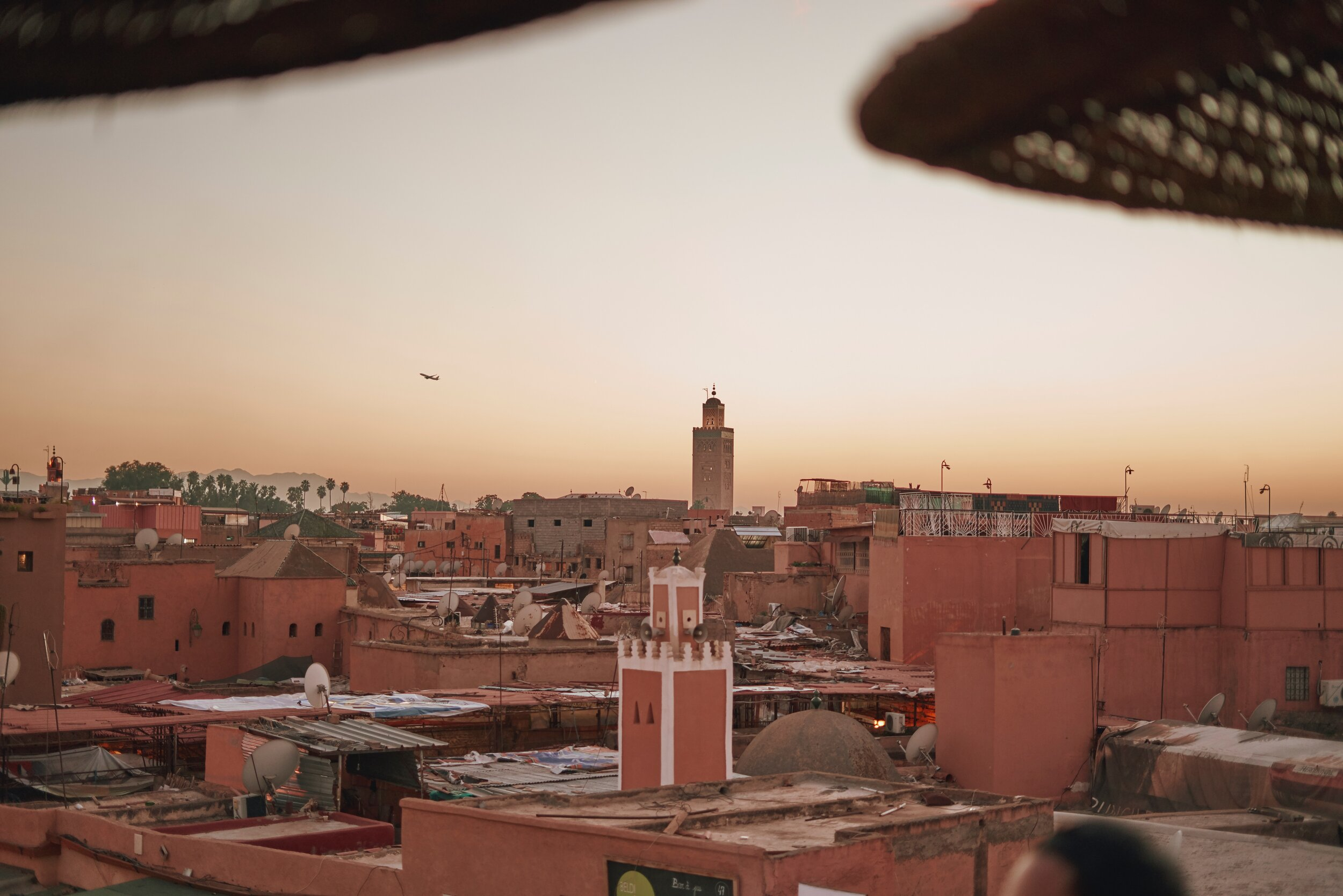 View of Marrakech Morocco - 7 Tips for Taking Photos in Crowded Places
