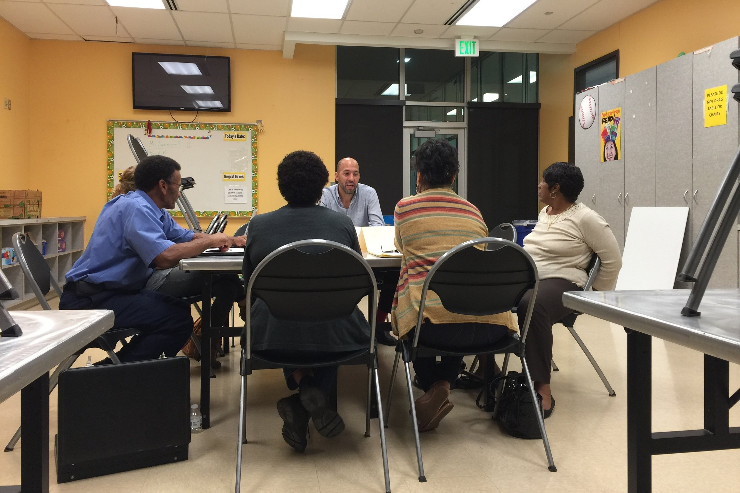 Cortez Consulting facilitating a community participate-led roundtable discussion.