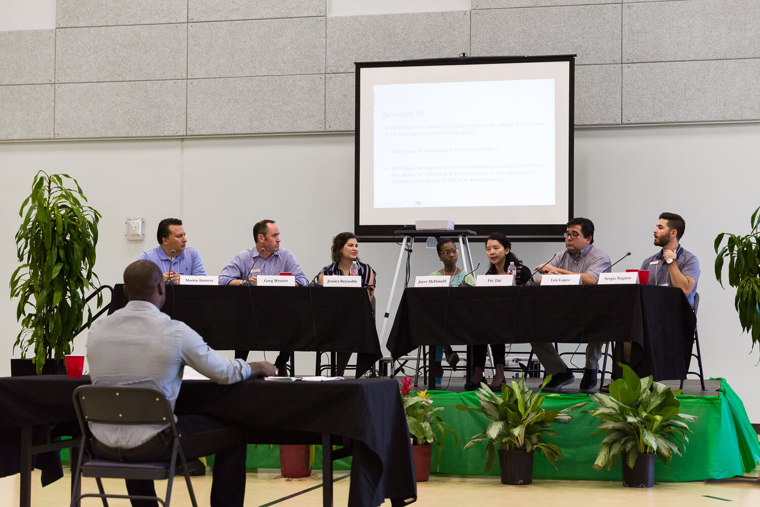 Panel presentation facilitated by Cortez Consulting Services.