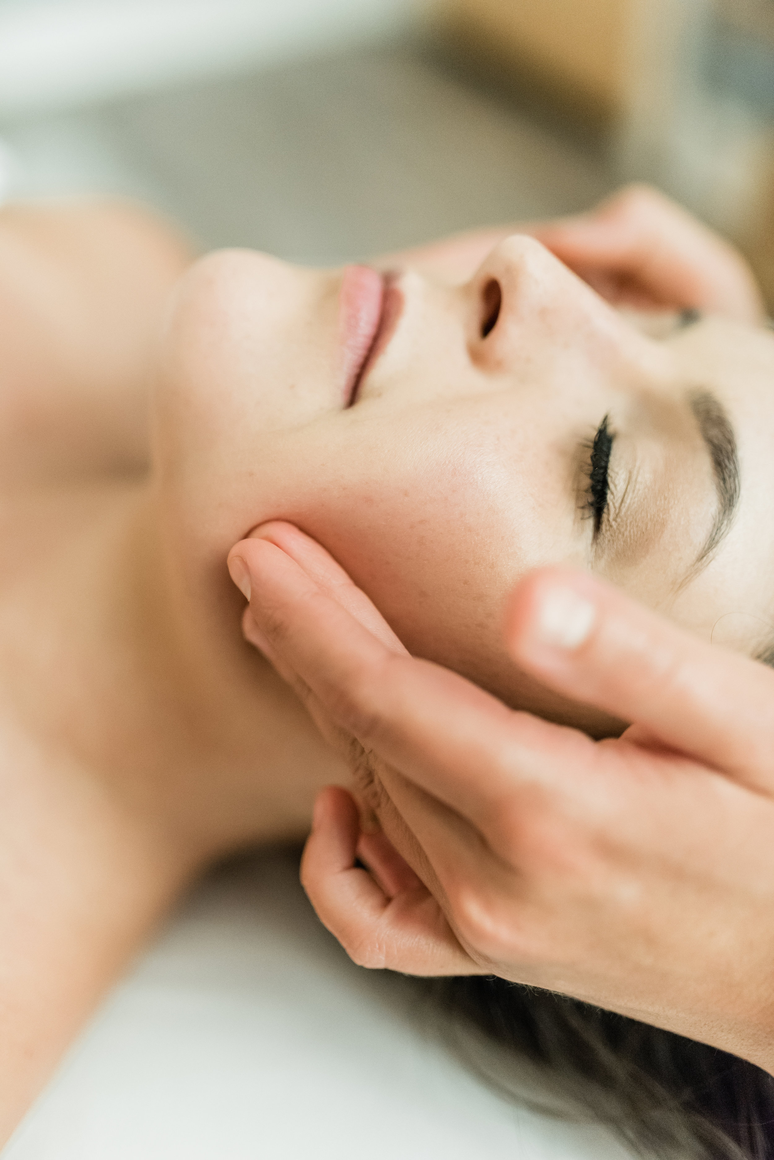 If you grind or clinch your teeth, experience headaches, or popping and clicking, difficultly opening or moving your jaw—you could benefit from  TMJ therapy .  Available as an add on service to your massage session (+20 minutes, $35), or as an individual treatment (30 minutes, $55).