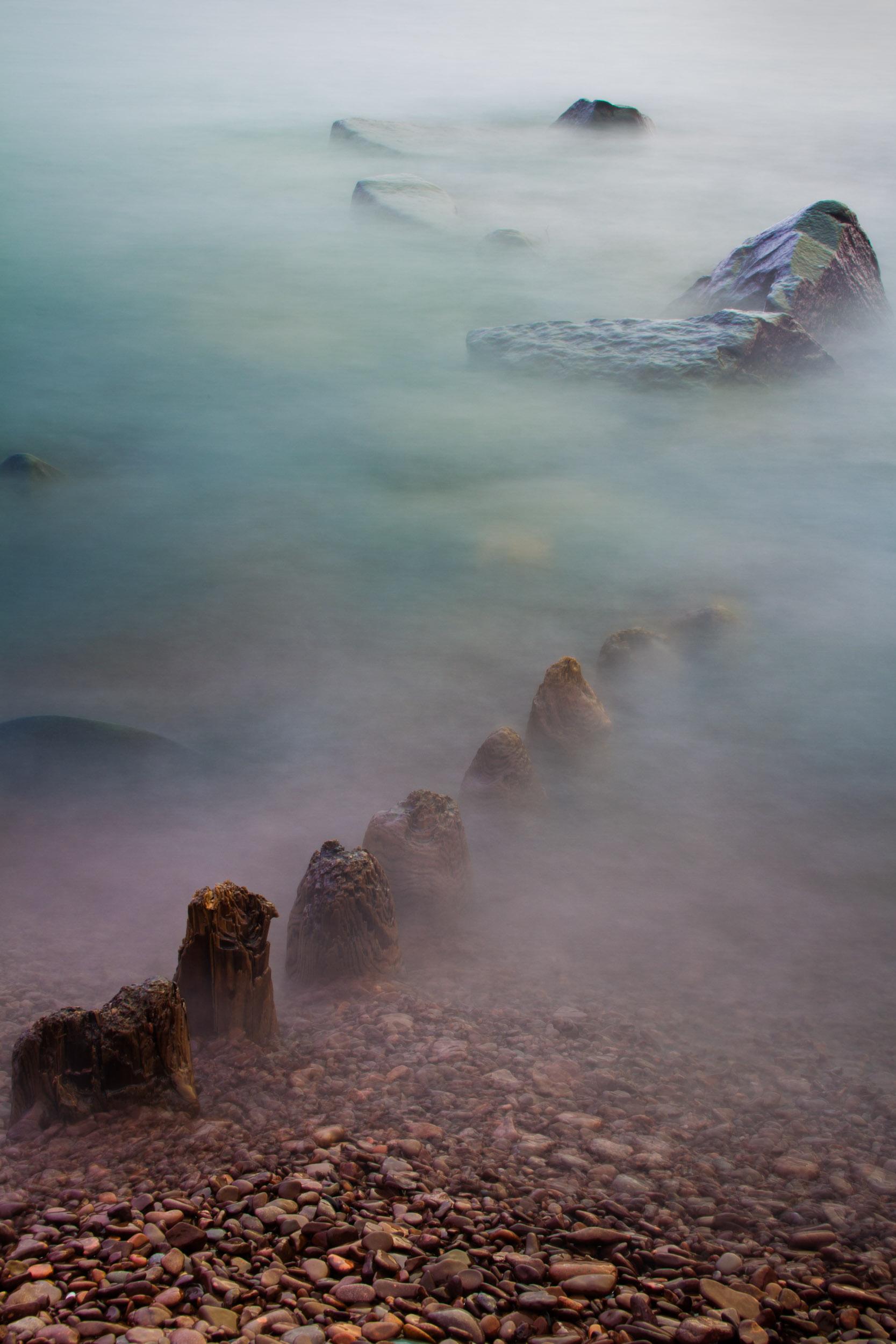 Dragons in the Mist, Artist Point, Grand Marais, MN  2347