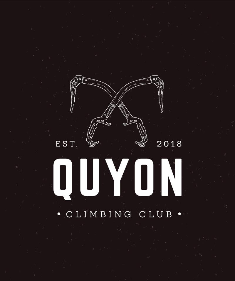 Quyon Climbing Club Logo Design