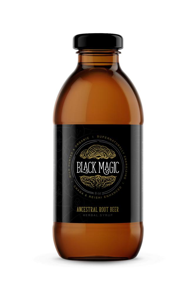 Black Magic Alchemy Label Design